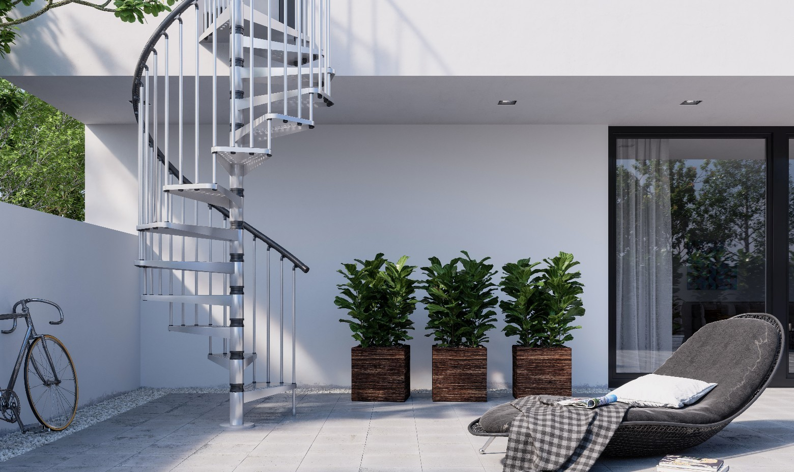 Outdoor Staircases